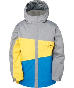 686 Authentic Angle Insulated Snowboard Jacket Lava Colorblock