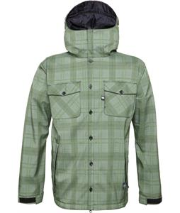 686 Authentic Hunter Softshell Grass Hunter Plaid