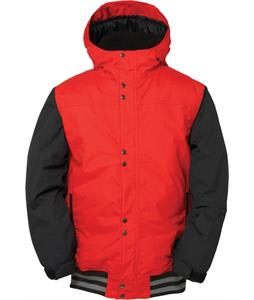 686 Authentic Junior Varsity Insulated Snowboard Jacket Red