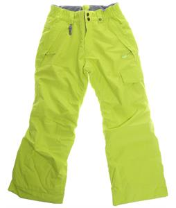 686 Authentic Misty Insulated Snowboard Pants Hot Lime