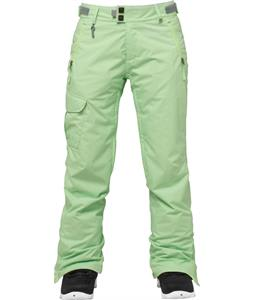 686 Authentic Misty Insulated Snowboard Pants Chartruese