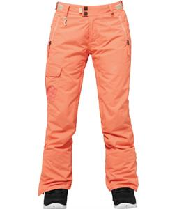 686 Authentic Misty Insulated Snowboard Pants Coral