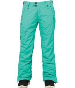 686 Authentic Misty Insulated Snowboard Pants Seafoam