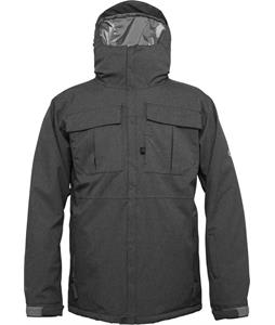 686 Authentic Moniker Insulated Snowboard Jacket Gunmetal Texture
