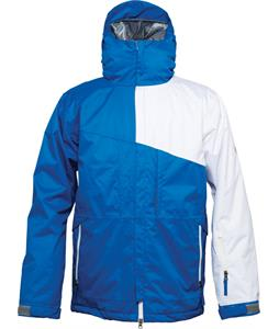 686 Authentic Prime Insulated Snowboard Jacket Blue Colorblock
