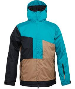 686 Authentic Prime Insulated Snowboard Jacket Mallard Colorblock