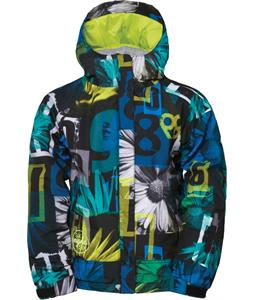 686 Authentic Promise Insulated Snowboard Jacket Black Collage