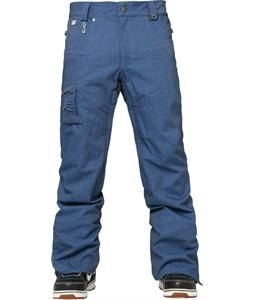 686 Authentic Prospect Snowboard Pants Indigo Twill Denim