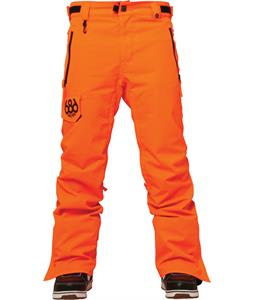686 Authentic Quest Snowboard Pants Safety Orange
