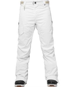 686 Authentic Quest Snowboard Pants White