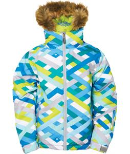 686 Authentic Rhythm Insulated Snowboard Jacket Blue Ribbons