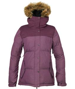 686 Authentic Runway Infi-Loft Snowboard Jacket Plum Heather Twill