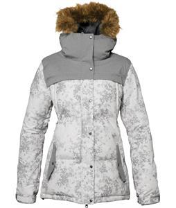 686 Authentic Runway Infi-Loft Snowboard Jacket White Desert Camo