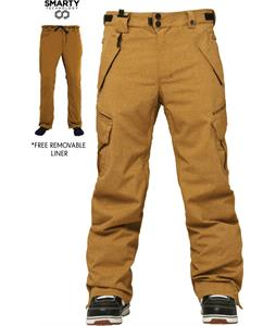 686 Authentic Smarty Cargo Snowboard Pants Duck Texture