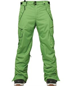686 Authentic Smarty Cargo Snowboard Pants Grass