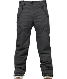 686 Authentic Smarty Cargo Snowboard Pants Gunmetal