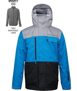 686 Authentic Smarty Form Snowboard Jacket Blue Colorblock