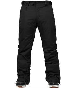686 Authentic Smarty Slim Platform Snowboard Pants Black