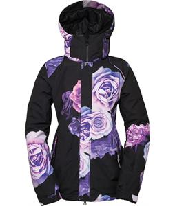 686 Authentic Splendor Snowboard Jacket Black Rose