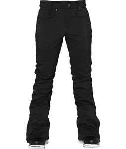 686 Authentic Willow Softshell Snowboard Pants Black