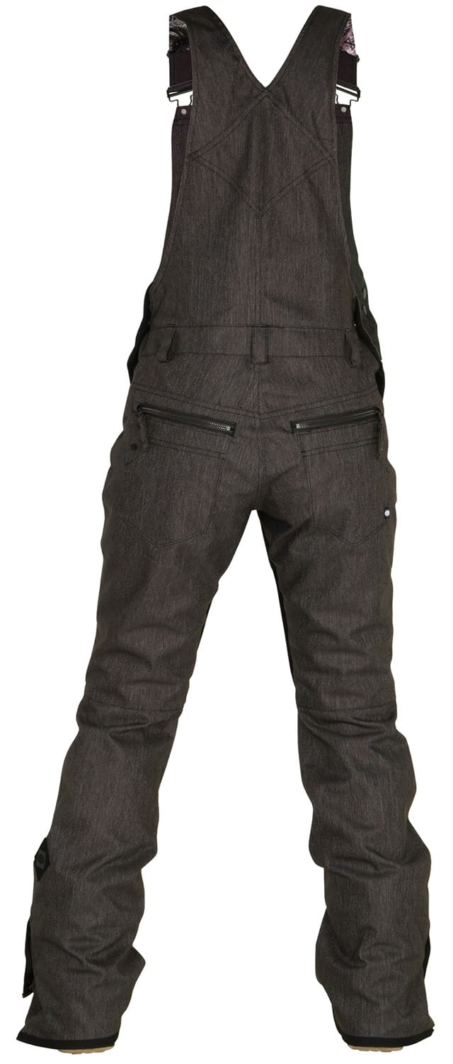On Sale 686 Black Magic Overall Bib Snowboard Pants