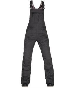 686 Black Magic Overall Bib Snowboard Pants