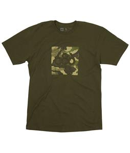 686 Camo Square T-Shirt Military Green