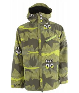 686 Camotooth Snowboard Jacket Army Camotooth