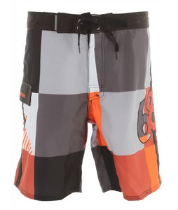 686 Cube Boardshorts Orange