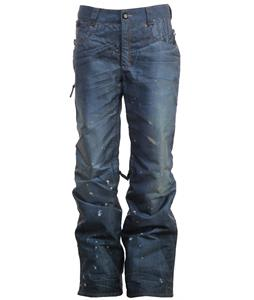 686 Deconstructed Denim Snowboard Pants