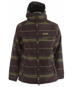 686 Factor Snowboard Jacket Black League Stripe