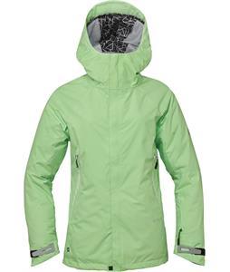 686 GLCR Chrystal Snowboard Jacket Chartreuse