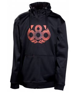 686 Icon Bonded Tech Hoodie Black