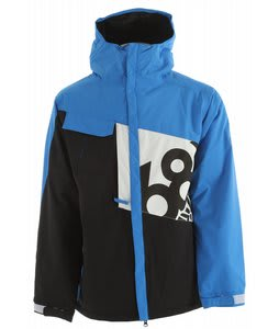 686 Iconic Snowboard Jacket Blue Colorblock