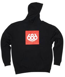 686 Knock-Out Pullover Hoodie Black