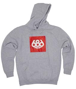 686 Knock-Out Pullover Hoodie Heather Grey