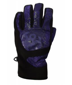686 Legacy Snowboard Pipe Gloves Crypt Storm Mens