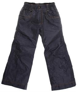 686 LTD Destructed Denim Insulated Snowboard Pants Black Thrash Denim