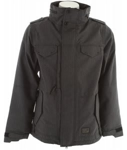 686 M-65 Snowboard Jacket Black Twill Denim
