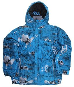 686 Mannual Chipped Insulated Snowboard Jacket Cyan