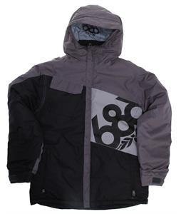 686 Mannual Iconic Insulated Snowboard Jacket Black