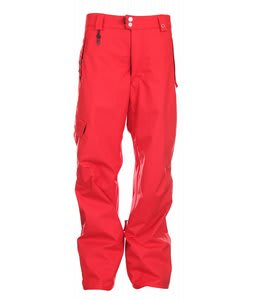 686 Mannual Motion Snowboard Pants Red Mens