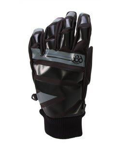 686 Motive Snowboard Pipe Gloves Black Mens