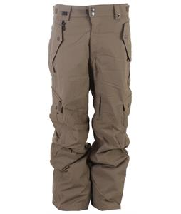 686 Smarty Original Cargo Tall Snowboard Pants Tobacco