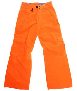 686 Authentic Ridge Insulated Snowboard Pants Safety Orange