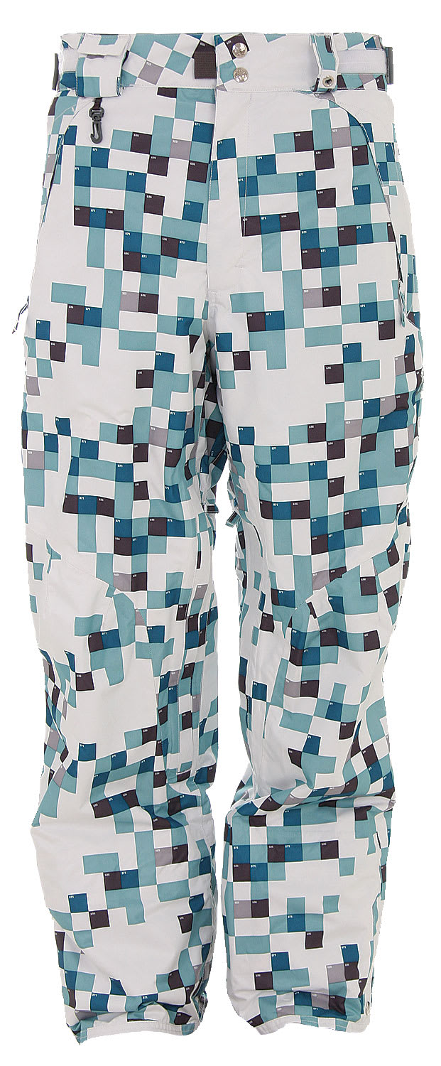 686 Smarty Complete 2.5 Ply Snowboard Pants White Print