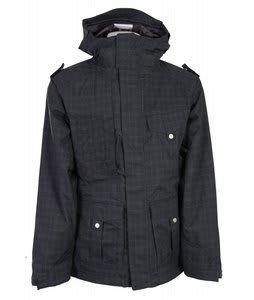 686 Smarty Ballast Jacket Black Plaid Mens