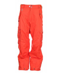 686 Smarty Cargo Snowboard Pants Burnt Orange Mens