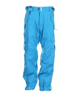686 Smarty Cargo Snowboard Pants Cyan Mens