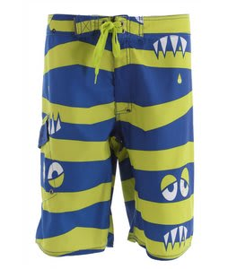 686 Snaggle-Stripe Boardshorts Royal